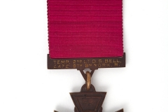 The Victoria Cross of Donald Bell - the only football plater ever to receive a Victoria Cross and a former Bradford Park Avenue Player