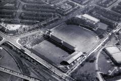 Bradfor Park Avenue 1966, with the football, cricket and bowling green all visible