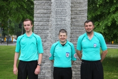 Towns V Gowns - match officials