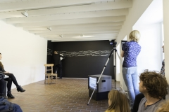 Chalk Drawing Performance