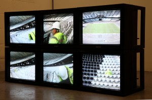 Every seat in the Stadium - video installation - scaled
