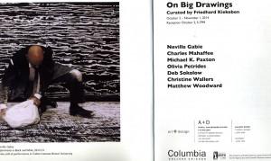 on big drawings
