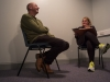 Moira Jeffrey and Neville Gabie in conversation - image Peter Haring