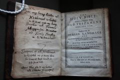 Eliot Bible 1663