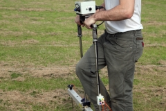 Geophysical Survey of the football pitch