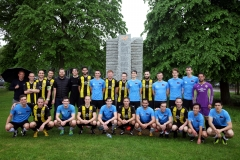 Town's V Gown's mens match at launch event
